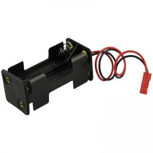 Battery tray YUKI MODEL compatible with JST BEC 4 x AA