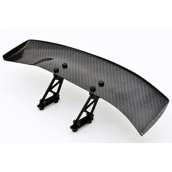 1/10 RC Racing Car 185x45mm Carbon Fiber GT Wing Rear