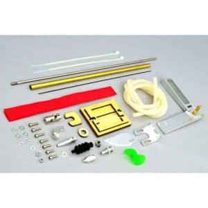 """Hardware Kit (Rudder, Shaft, Propeller) for 23"""" Deep-Vee Ocean"""