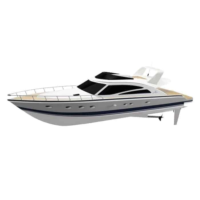 Thunder Tiger - Electric boat ATLANTIC MOTOR YACHT Combo Plus ARTR