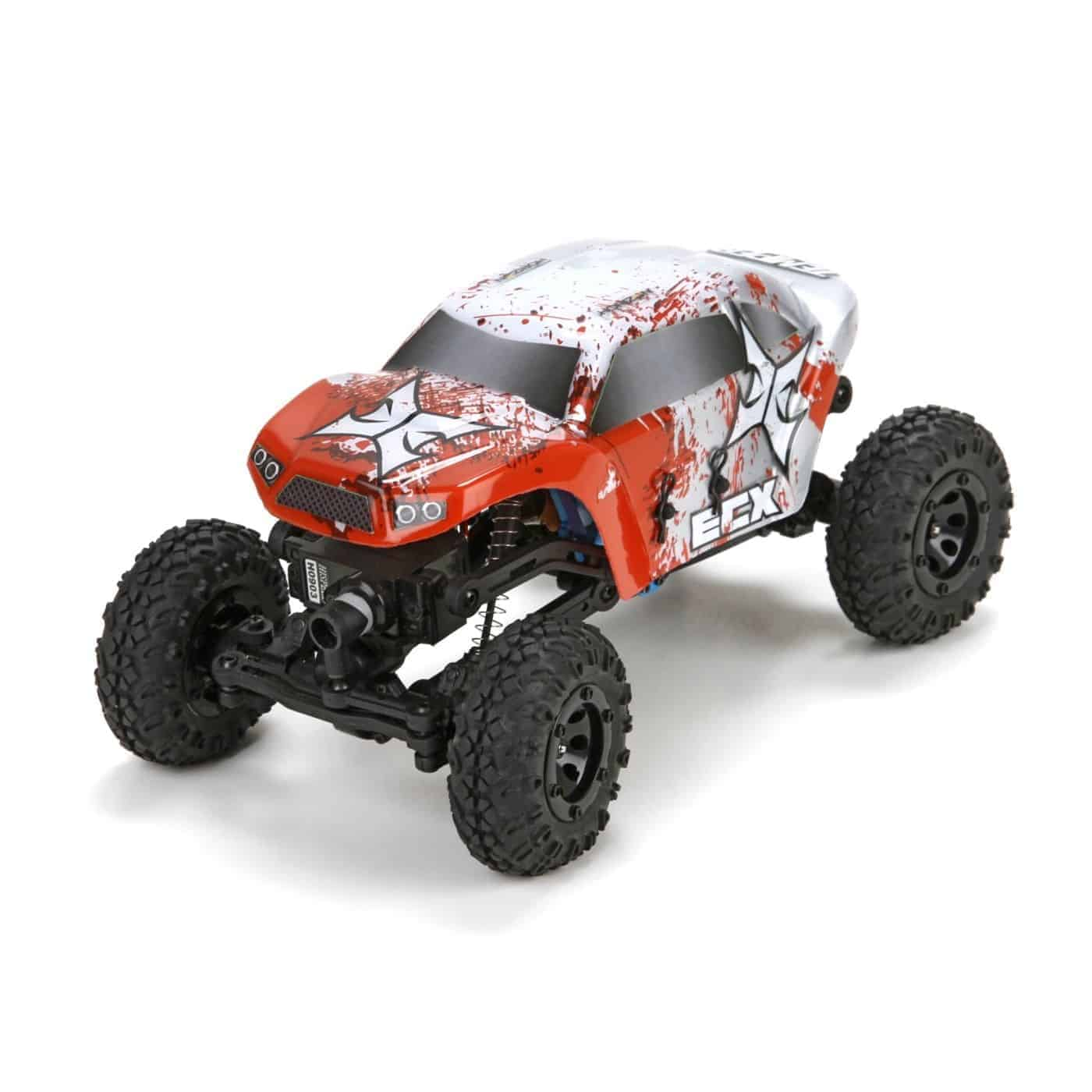 ECX 1/24 Temper Crawler RTR, Red/White