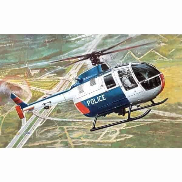 Italeri BO 105 Police Helicopter My First Model Kit