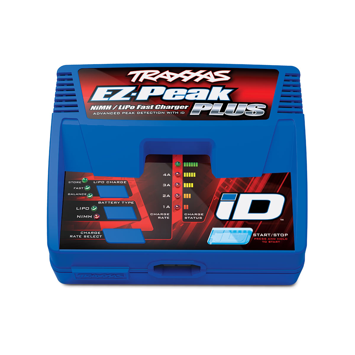 EZ-Peak Plus 4-amp NiMH/LiPo Fast Charger with iD™ Auto Battery Identification