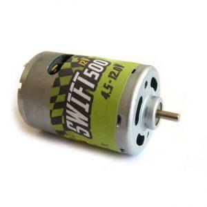Brushed motor GPX Extreme: SWIFT 500 12V engine