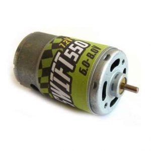 Brushed motor GPX Extreme: SWIFT 550 7.2V engine
