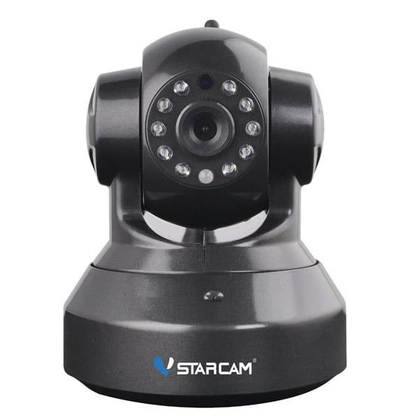 Vstarcam C7837WIP (Μαύρη) Ρομποτική IP κάμερα 720p WiFi/Ethernet microSD Plug & Play
