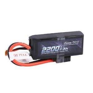 Gens ace 2200mAh 7.4V 50C 2S1P Lipo Battery W/TRX Connector