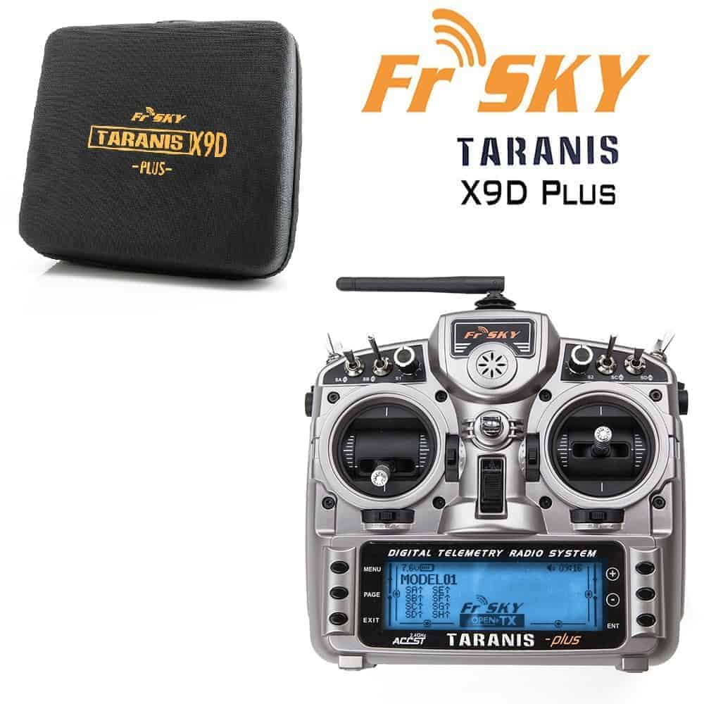 FrSky Taranis X9D Plus (FCC) 2.4GHz ACCST Radio w/ zipper case