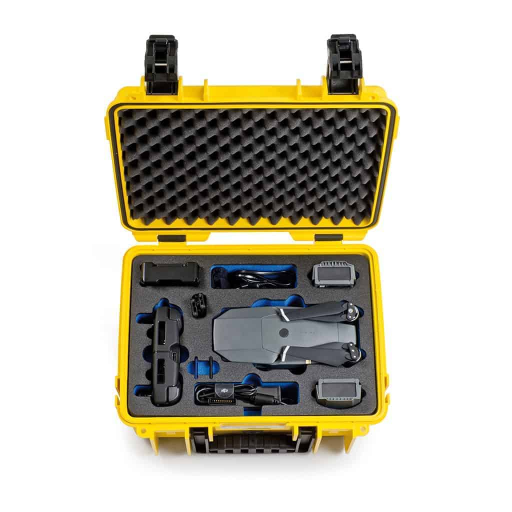 B&W Professional Case for DJI Mavic Pro (Yellow)