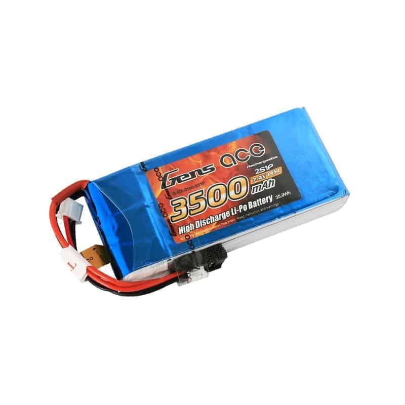 Gens Ace 3500mAh 7.4V 5C RX