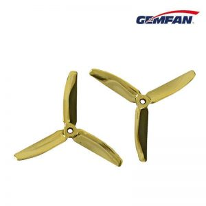 Gemfan Master Series 5040-3Blade Props (2 pairs - GOLD)