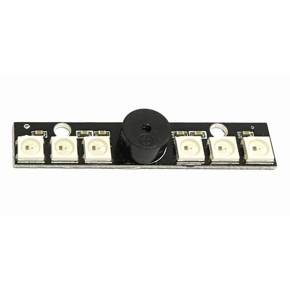RGB 6 LEDs Board 5V WS2812B w/Buzzer