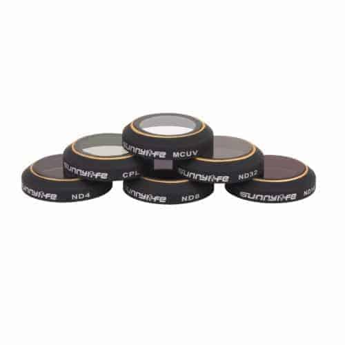 DJI Mavic Pro Sunnylife 6pcs/set Camera Filter ND4/ND8/ND16/ND32/CPL/MCUV