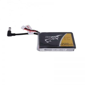 TATTU 2500mAh 2S1P Fatshark Goggles Lipo Battery Pack with DC3.5mm plug