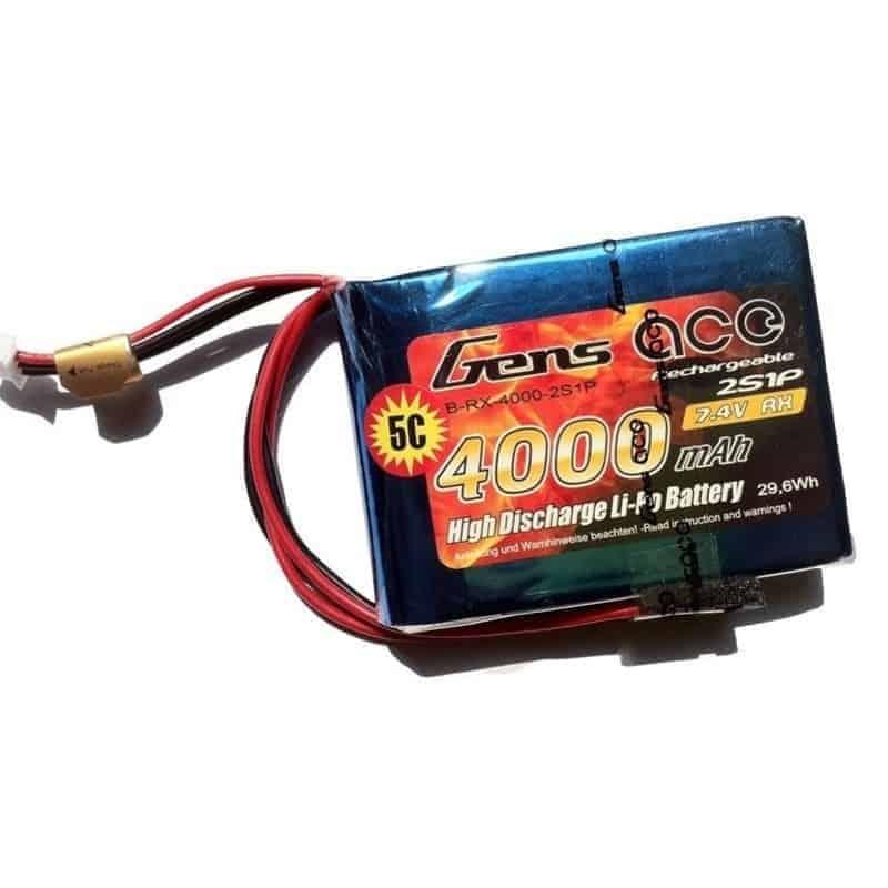 Gens Ace 4000mAh 7.4V 5C RX