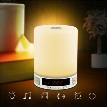 Bluetooth wireless table LED lamp for Music and romance
