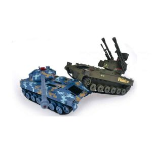 Double Eagle: A set of mutually fighting tanks 1:24 27 / 40MHz