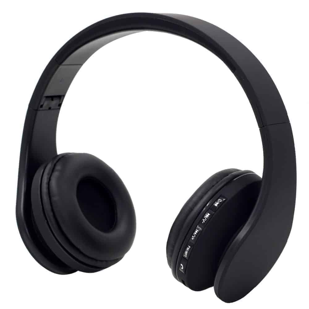 YT-Tech 811 4in1 Wireless headphones with FM radio TF card play (BLACK)