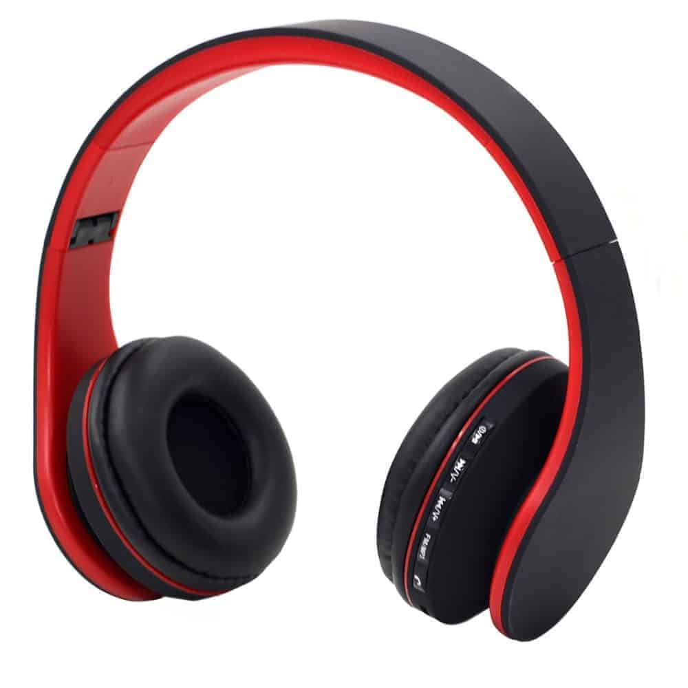 YT-Tech 811 4in1 Wireless headphones with FM radio TF card play (RED)