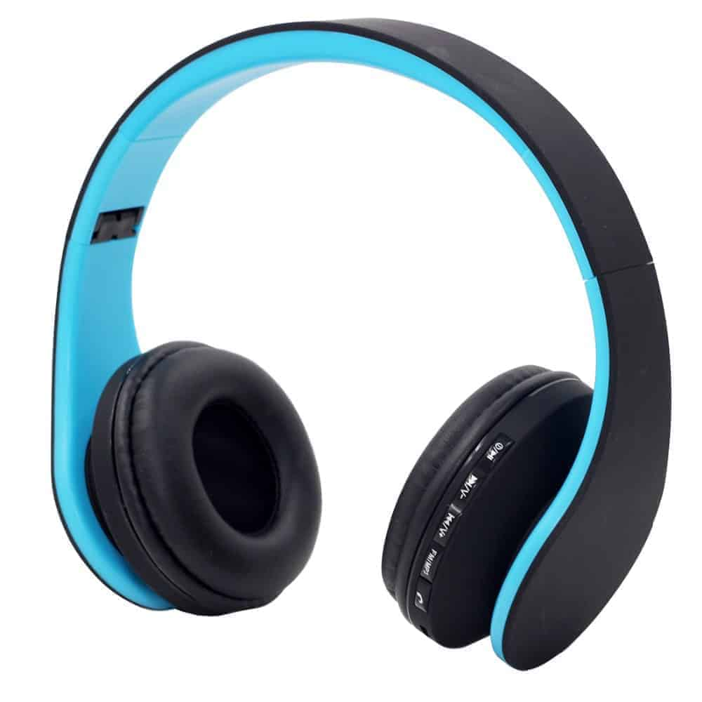 YT-Tech 811 4in1 Wireless headphones with FM radio TF card play (BLUE)