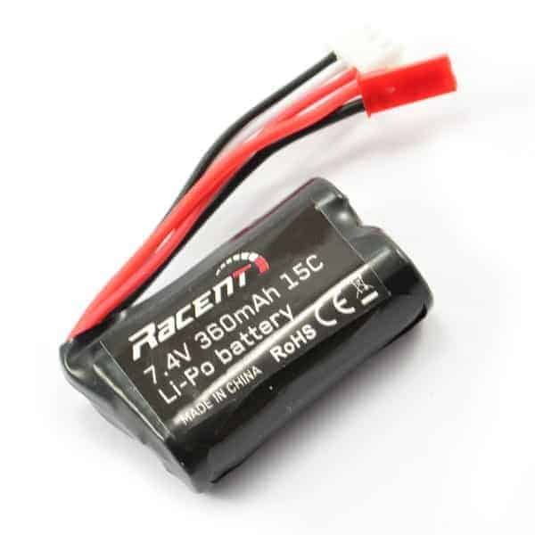 Volantex Tumbler 7.4V 360 mAh liion Battery