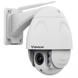 VStarcam C34S-X4 Αδιάβροχη Ρομποτική IP PTZ κάμερα Full HD 1080p WiFi/Ethernet microSD